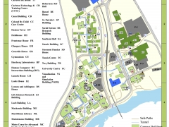 Redesign of Campus Map