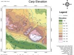 Carp Area Elevation